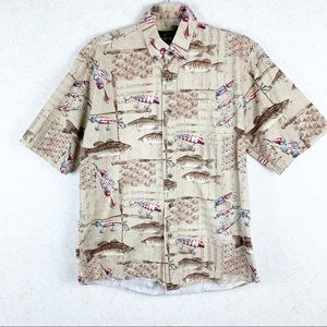 Men's RedHead fishing Americana cotton button up